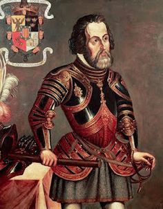 One of the earliest conquistadors was Hernan Cortes. In 1519, he landed on the coast of Mexico.