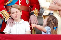 Princess Charlotte Changed Hair Style at Trooping the Colour | PEOPLE.com Queen Elizabeth Birthday, Queen Birthday, Princess Eugenie, Princess Charlotte, Lord Frederick Windsor, Sophie Winkleman, Mom Show, Pulled Back Hairstyles, Two French Braids