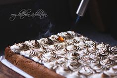 Toasted S'mores Cookie Bars with Nutella Ganache | my kitchen ...