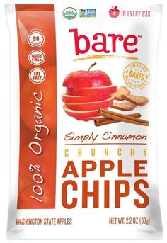 Bare Apple Cinnamon Chips | 26 Packaged Snacks To Eat When You're Trying To Be Healthy