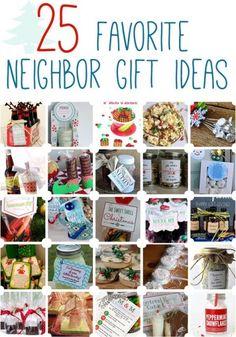 25 Neighbor gifts