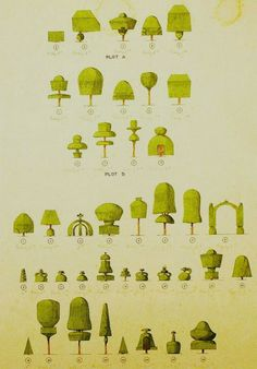 Levens Hall topiary design forms, and the garden... | Wallace Gardens
