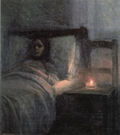 Dead Girl'' by Jakub Schikanedar {c.1909}