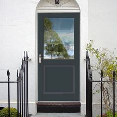 Here at Direct Doors we like to keep our range as fresh and new as possible to ensure you find the door for your needs and our stunning range of Tricoya External Doors are sure to be the perfect option for your front door. Front Doors With Windows, Back Doors, Traditional Patio Doors, Grp Doors, Door Fittings, Door Price, Glass Panel Door, External Doors