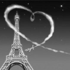 city of love♥ Paris, France, Eiffel Tower