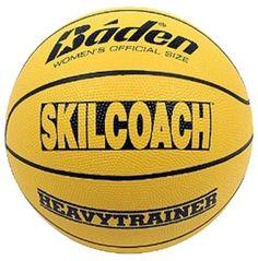 "Baden SkilCoach Heavy Trainer Rubber Basketball (28.5"") - Dick's Sporting Goods"