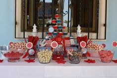 Mesa de dulces marinera | bubblykido