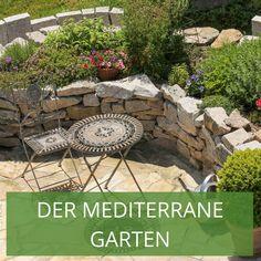 Die 57 Besten Bilder Von Gartengestaltung Der Mediterrane Garten In