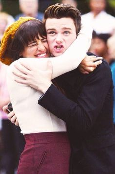 I just fell in love with that picture❤️ Kurt Hummel Rachel Berry glee