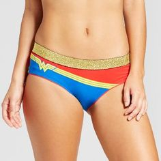 Women's Wonder Woman Blue Logo Women's Hipster Briefs : Target I Want, Hipster Underwear, Boxers Underwear, Wonder Woman Outfit, Female Superhero, Wonder Woman Logo, Casual Cosplay, Women's Leggings, Autumn Fashion