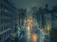New York City's Chinatown By Franck Bohbot #FranckBohbot http://www.franckbohbot.com/