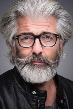 Long Beard Styles, Hair And Beard Styles, Long Hair Styles, Grey Beards, Long Beards, Moustaches, Grey Hair Looks, Beard Model, Silver Foxes