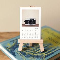 A perfect desk calendar.