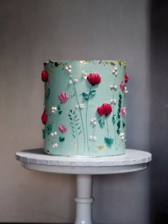 alice + rosa signature cake – Famous Last Words Fancy Cakes, Cute Cakes, Pretty Cakes, Yummy Cakes, Gorgeous Cakes, Amazing Cakes, Painted Cakes, Floral Cake, Pastel Floral