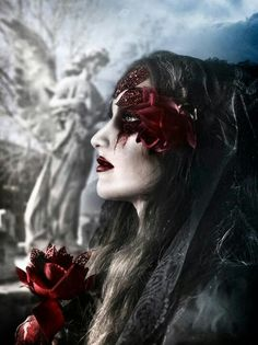Fantasy Gothic Pictures, Gothic Images, Dark Gothic Art, Dark Art, The Shadow Queen, Goddess Warrior, Gothic Culture, Gothic Vampire, After Dark