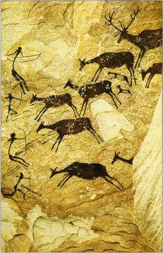 Cueva de los Caballos Valltorta Castellón 7000a.c. mesolitico