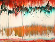 Gerhard Richter, Fuji, 839-22