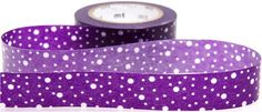purple mt Washi Masking Tape deco tape with dots