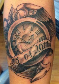 12 clock forearm