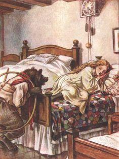 """Goldilocks and the Three Bears"" by Paul Woodroffe"
