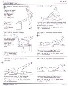 Hip - Knee Exercises 1