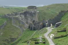 Tintagel Castle Cornwall England | Tintagel Castle in Cornwall, England | Get Out! | Pinterest