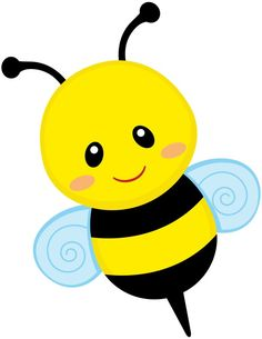 Free Bumble Bee Clipart of Bumble bee free cute bee clip art an illustration of a cute bee free image for your personal projects, presentations or web designs. Insect Clipart, Bee Images, Cute Bee, Bee Art, Bee Theme, Music For Kids, Children Music, Baby Shower Cards, Cartoon Kids