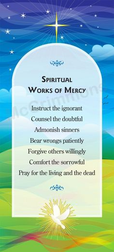 bear wrongs patiently spiritual works of mercy - 236×519