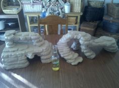 Homemade reptile hide/basking rocks, I would love to make some of these but I have no use for them currently.