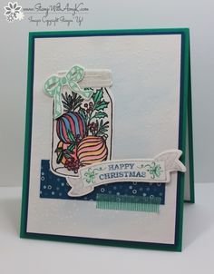 Stampin' Up! Jar of Cheer Sneak Peek For Fab Friday – Stamp With Amy K