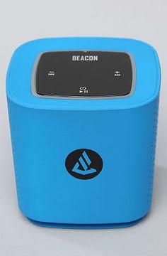 The Phoenix Bluetooth Speaker in Blue by Beacon Audio