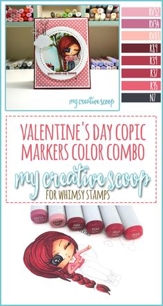 Valentine's Day Copic Markers Color Combo