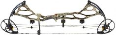 Bowtech BT-X in Realtree Xtra Bow | This bow combines speed, balance and strength in an ultra-compact design. The 28-inch-cam-system model delivers arrows at 333 fps, and the 31-inch variant fires them at 350 fps. The bow's revolutionary skeletal riser was designed to remove unwanted weight for added balance and stability. The BT-X features Bowtech's new Micro Sync Dial, which lets you precisely time cam position without using a bow press.