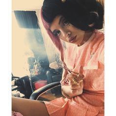 Instagram post by Melanie Martinez • Apr 17, 2016 at 1:37am UTC ❤ liked on Polyvore featuring jewelry and earrings