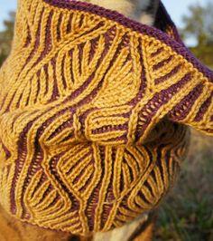 Brioche Knit Cowl