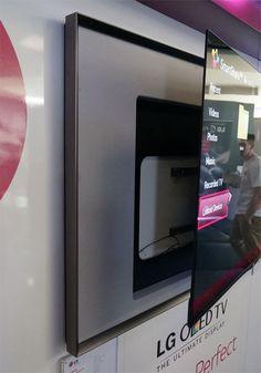Detachable LG OLED Television panel
