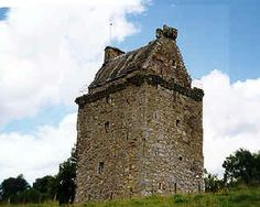 Gilnockie Tower belonging to the Armstrong Clan in Scotland