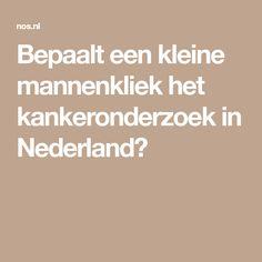 Bepaalt een kleine mannenkliek het kankeronderzoek in Nederland?