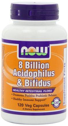 Acidophilus & Bifidus 8 Billion