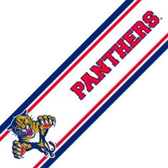 NHL Florida Panthers Prepasted Hockey Wall Border Roll