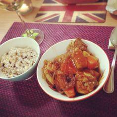 Spicy chicken stew- Korean way