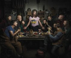 Portraits Of Auto Mechanics In The Style Of Renaissance Paintings