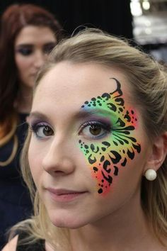 So beautiful  #facepainting #facepaintingideas http://www.keypcreative.com/
