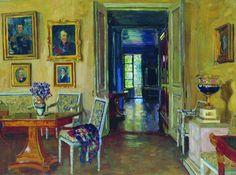 Интерьеры Жуковского.          Artist Zhukovsky. interior of the country estate.