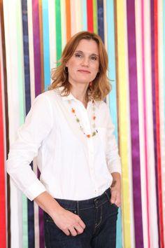 Cristina Bottallo, artesã e parceira do Clube de Artesanato (clique na foto e confira o editorial de dezembro/2012).