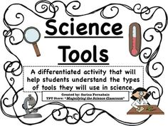 Worksheet Scientific Tools Worksheet science tools and on pinterest differentiated activity