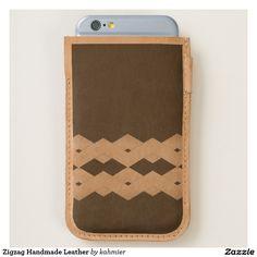 Zigzag Handmade Leat