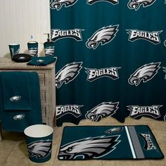 NFL Philadelphia Eagles Decorative Bath Collection - Shower Curtain