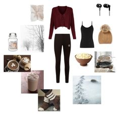 """""""Winter nights"""" by jessiestarman ❤ liked on Polyvore featuring adidas Originals, Yankee Candle, PBteen and Panasonic"""