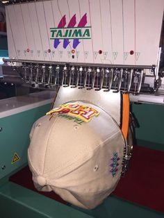 Customize cap at ajima al #Malaysia Gifts Expo 2016 #Tajima #customize #artdecor